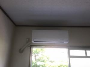 他店購入エアコンの取り付け工事