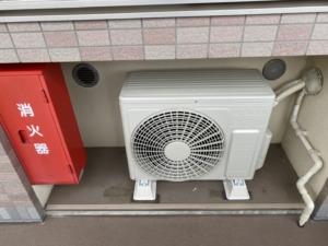 マルチエアコンの配管を再利用してルームエアコンに取り替え工事